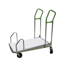 Metal Steel Hand Warehouse Housekeeping Trolleys