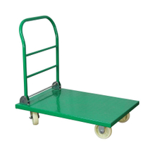 150kgs Load Capacity Aluminium Four Wheels Flat Outdoor Folding Cart