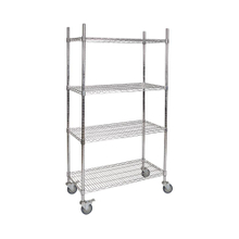 Factory Price Heavy Duty Steel Adjustable Wire Shelving