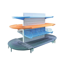 Light Duty Metal kinds of Snack supermarket stand racks