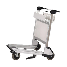 Stainless Steel Customized Handle Airport Landside Trolley