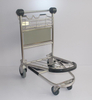 Passenger Luggage Cart Airport Baggage Trolley with Brake