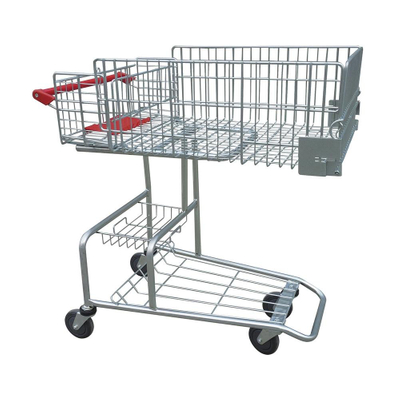 Disabled Style Vegetable Shopping Mall Push Cart
