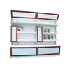 Cheap Retail Gondola Display Shelf with Punch Panel