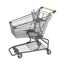 60L American Style New Trendy Retail Shopping Trolleys