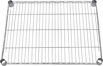 Chrome Plated Living Home Wire Mesh Floor Wire Rack
