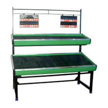 Customized Double Side Fruit And Vegetable Wicker Rack